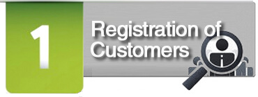 Registration of Customers - GEOLoyalty